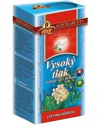 AGROKARPATY VYSOKÝ TLAK čaj s hlohom bylinný čaj čistý prírodný produkt 20x2 g