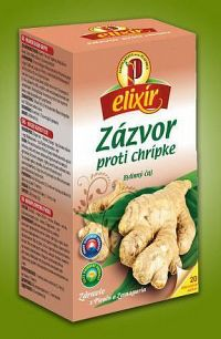 AGROKARPATY ZÁZVOR Chrípka bylinný čaj balené vrecúška 20x1 5 g