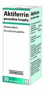 Aktiferrin gtt por 1x30 ml