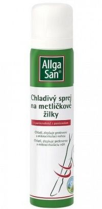 Allga San Chladivý sprej na metličkové žilky s pantenolom, 1x75 ml