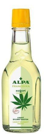 ALPA FRANCOVKA KONOPE/CANNABIS liehový bylinkový roztok 1x60 ml