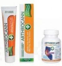 ANNABIS Dvojbalenie ARTHROCANN GÉL s koloid. striebrom 75 ml + COLLAGEN Omega 3-6 Forte Tablety 60 k