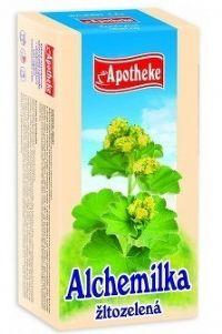 APOTHEKE ČAJ ALCHEMILKA ŽLTOZELENÁ20x1 5 g