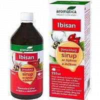 aromatica IBISAN Skorocel.sirup so šípkou a ibiš. 1x210 ml