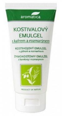aromatica KOSTIHOJOVÝ EMULGEL s gáfrom a rozmarín. 1x75 ml