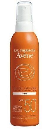 AVENE SPRAY SPF50+ veľmi vysoká ochrana citlivej kože 1x200 ml