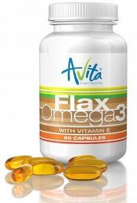 Avita Flax Omega 3, 90 toboliek