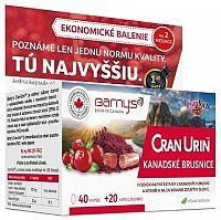 BARNY'S CRAN-URIN KANADSKÉ BRUSNICE cps 40+20 zadarmo