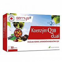 BARNY'S Koenzým Q10 dual 60 mg cps 1x30 ks