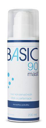 BASIC 90 masť na suchú pokožku 1x200 ml