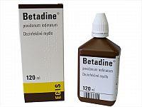 Betadine dezinfekčné mydlo 75 mg/ml sol der 1x120 ml