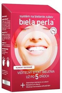 Biela perla Systém na bielenie zubov 1x1 set