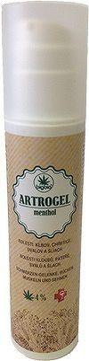BigBio ARTROGEL menthol masážny bylinný gél, dávkovač 1x200 ml