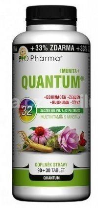 BIO Pharma Multivitamín s minerálmi IMUNITA+ tbl 90+3032 zložiek