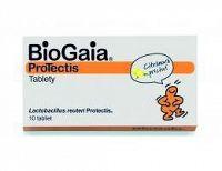 BioGaia ProTectis žuvacie tablety citrónová príchuť 1x10 ks