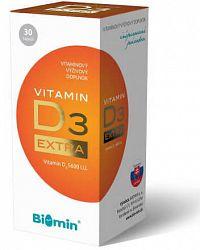 BIOMIN VITAMIN D3 EXTRA cps 1x30 ks