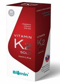 BIOMIN VITAMIN K2 cps 1x60 ks