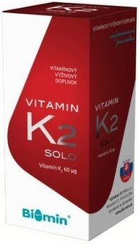 BIOMIN VITAMIN K2 SOLO cps 1x30 ks