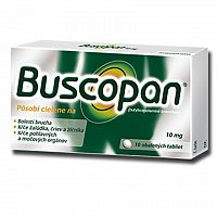 Buscopan tbl obd 10 mg 1x10 ks