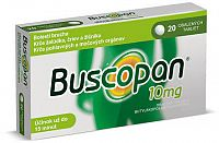 Buscopan tbl obd 10 mg 1x20 ks