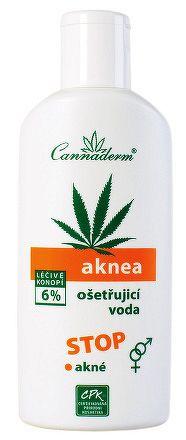 Cannaderm AKNEA ošetrujúca voda na akné 1x200 ml