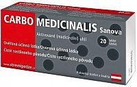 CARBO Medicinalis Sanova tbl 1x20 ks