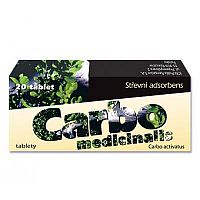 CARBO MEDICINALIS tbl 1x20 ks