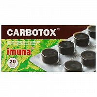 CARBOTOX tbl 320 mg 1x20 ks