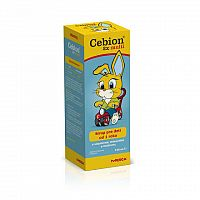 CEBION 2x multi detský sirup 1x150 ml