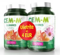 CEM-M GUMMIES IMUNITA želatínové multivitamíny s Echinaceou2x60
