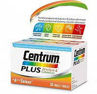 Centrum PLUS ŽENŠEN & GINKGO tbl 1x30 ks