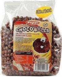 Cereálne guličky kakaové bezlepkové 375g VEPY