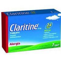 CLARITINE 10 mg tbl 1x7 ks