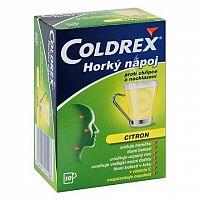 COLDREX Horúci nápoj citrón plo por 5 g 1x10 ks