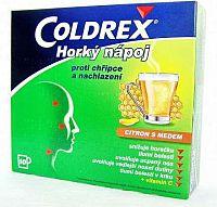 Coldrex Horúci nápoj Citrón s medom plo por 5 g 1x10 ks