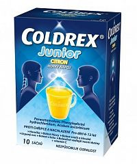 Coldrex Junior Citrón plo por 1x10 ks