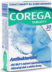 COREGA BIO Tabs antibakteriálne čistiace tablety 1x30 ks