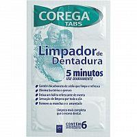 COREGA TABS 3 minutes antibakteriálne čistiace tablety 1x6 ks