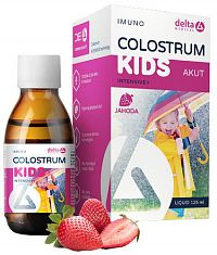 DELTA COLOSTRUM sirup JAHODA KIDS 1x125 ml