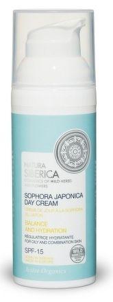 Denný pleťový hydratačný a harmonizujúci krém zo sofory japonskej na mastnú a zmiešanú pleť