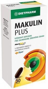 DIETPHARM MAKULIN PLUS cps 1x30 ks