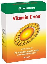 DIETPHARM Vitamín E 200 cps 1x30 ks