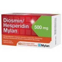 Diosmin/Hesperidin Mylan 500 mg 1x60 ks