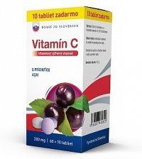 Dobré z SK Vitamín C 200 mg príchuť ACAI tbl 60+10 zadarmo