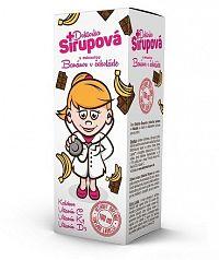 Doktorka Sirupová kalciový sirup s príchuťou Banánov v čokoláde 1x100 ml