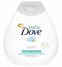 Dove baby Sensitive telové mlieko 1x200 ml