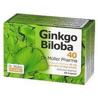 Dr. Müller GINKGO BILOBA 40 mg cps 1x60 ks