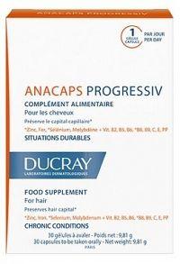 DUCRAY ANACAPS PROGRESSIVcps pre vlasy 3x30 1x1 set