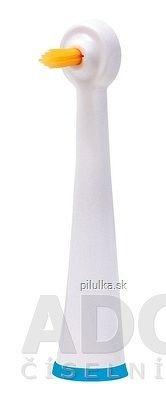 EDEL-WHITE ČISTIACA HLAVICA SINGLE CLEAN na sonickú zubnú kefku 1x2 ks
