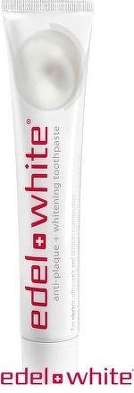 EDEL-WHITE ZUBNA PASTA ANTI-PLAQUE+WHITENING 1x75 ml